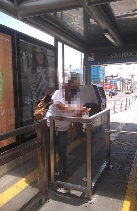 RUTA EXHORTA A USUARIOS A UTILIZAR GEL ANTIBACTERIAL